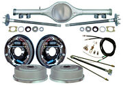 Currie 68-74 X-body Multi-leaf Rear End And 11 Drum Brakeslinese- Cablesaxles