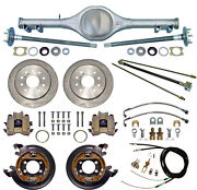 Currie 67-69 F-body Mono-leaf Rear End And Disc Brakeslinesparking Cablesaxles