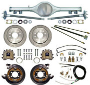 Currie 70 1/2-81 Gm F-body Rear End And Disc Brakeslinesparking Cablesaxlesetc