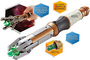 New 12th Dr Doctor Who Sonic Screwdriver Led Sfx Touch Control - Peter Capaldi