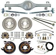 Currie Rear End And Disc Brakes,lines,cables,axles,fits Jeep Xj Cherokee,84-01