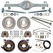 Currie Rear End And Disc Brakeslinescablesaxlesfits Jeep Xj Cherokee84-01