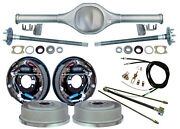 Currie Rear End And 11 Drum Brakes,lines,parking Cable Fits Jeep Wrangler Yj,8795