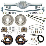 New Currie Rear End And Disc Brakeslinescablesaxles For 87-95 Jeep Wrangler Yj