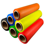 Hand Stretch Wrap Film Choose Your Color Roll Size W/ Free Shipping
