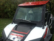 Rzr Xp1000 And Rzr 900 Laminated Safety Glass Windshield With Wiper Pn12383