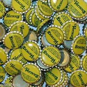 Soda Pop Bottle Caps Lot Of 25 Vernors Plastic Lined Unused And New Old Stock