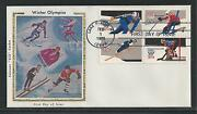 1795-1798a Winter Olympics 1980 Colorano Silk First Day Cover