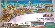 Mandm Electric Train Collection -on30 Scale Holiday Express By Hawthorne Village