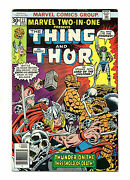 Marvel Two-in-one No 22 Dec 1976 Fn+ Thing And Thor, Cents Copy