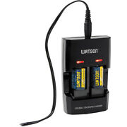 Watson Dual Rapid Charger For 3v Cr123a And Cr2 Lithium Batteries With 2cr2 Batt.