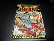 Amazing Adventures 11 Key 1st Appearance Of Beast In Mutated Hairy Form