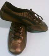 Taygra Brasil Bronze Slim Sneakers Flexible And Light Shoes Size 7us
