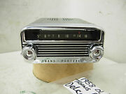 1958 Oldsmobile Trans Portable Delco Am Radio With Knobs 58 Olds Trans-portable