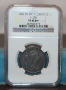 1803 Draped Bust Large Cent Ngc Vf 25