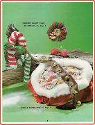 Crochet Candy Cane And Wreath - Craft Books Make Yours A Crafty Christmas Iii