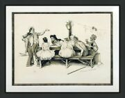 Norman Rockwell Circus 1971 | Rare Hand Signed And Numbered | Framed | Gallart