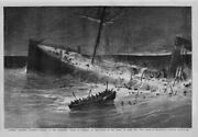 Shipwreck Nautical Sinking Of The Steamship State Of Florida Life Rescue Boat