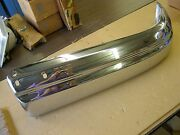 Nos Oem Ford 1950 Lincoln Front Bumper Section End
