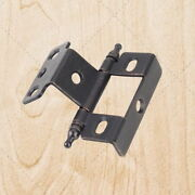 Furniture Cabinet Hinges Inset Brushed Oil Rubbed Bronze 3/4 X 3/4 Hx138