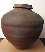Listed American Pottery Artist Paul Chaleff Signed Very Lage Vase