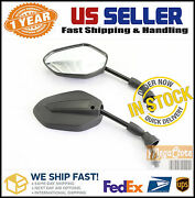 Black Motorcycle Dirt Mirrors Dr Dr100 125 200 250 350 370 400 650 For Suzuki