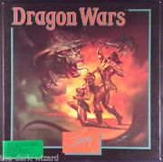 Dragon Wars - Ibm/pc - W/full Color Poster - Complete In Box 1989