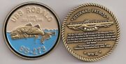 Navy Uss Robalo Ss-273 Lost Submarine Challenge Coin