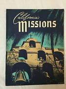 1962 California Missions Sterling Press 96 Pages Illustrated By Herbert Hahn