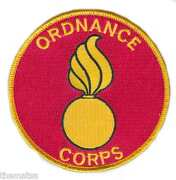 Army Ordnance Corps 4 Embroidered Military Branch Patch