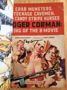 Signed By Roger Corman Crab Monsters Teenage Cavemen + Pic Little Shop Horrors