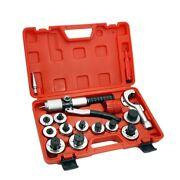 New 11 Lever Hydraulic Tubing Expander Tool Swaging Kit 3/8-1-5/8