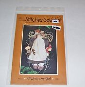 Stitches And Sawdust 13 Inch Kitchen Angel Doll Pattern Only 1995 Usa Oop