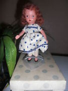 Nancy Ann Storybook Doll 109 Little Betty Blue Wore Her Holiday Shoe W/box