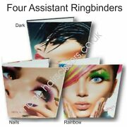 Ring Binder Ringbinder Folder Original Size Hair Beauty And Appointment Pages