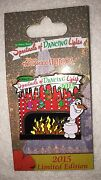 New 2015 Disney Osborne Family Spectacle Dancing Lights Le Olaf Trading Pin