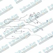 1977 F250 Highboy Ford Truck Complete Brake Line Set Kit Long 4wd Power Disc Oe
