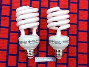 Box Of 2 New Grow Light Bulb 2700k Fluorescent Cfl 26w For Blooming Plant 120v