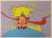 Peter Max Entering A New State 1972 | Vintage Signed Print | Make An Offer