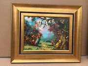 James Coleman Disney Art Poohs Afternoon Nap Giglee On Canvas 27 Of 195 36