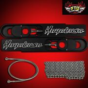 2004 Ultimate 12 Hayabusa Swingarm Extensions Complete 12 Inch Stretch Kit