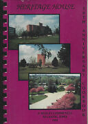 Atlantic Ia 1993 Heritage House 30th Anniversary Cook Book Staff Residents +