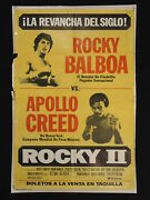 Rocky Ii 1979 Rematch Fight Style Stallone Argentine 1sh Movie Poster