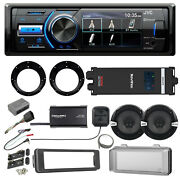 Jvc Bluetooth Receiver Install Adapter Kit 6.5 Speakers Amplifier Cover