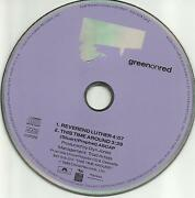 Chuck Prophet Green On Red Reverend Luther / This Time Around Promo Dj Cd Single