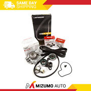 Timing Belt Kit Npw Water Pump Fit 93-01 Honda Prelude Vtec 2.2 Dohc H22a1 H22a4