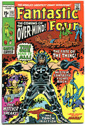 Fantastic Four 113, Vf+, 1st Overmind, John Buscema, 1961,more Ff In Store, Qxt