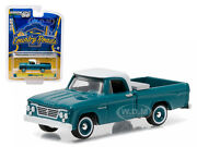 1963 Dodge D-100 With Toolbox Pickup Country Roads 14 1/64 By Greenlight 29830 A