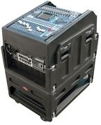 Skb Rack Mount Mixer System Case Mighty Gigrig For Yamaha, Mackie, Allen And Heath