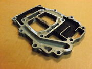 02 Yamaha 150 Hp Exhaust Manifold Extension 115 130 175 200 Mount Plate Mounting